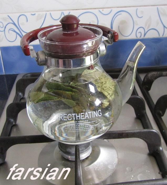 چای برگ کل به